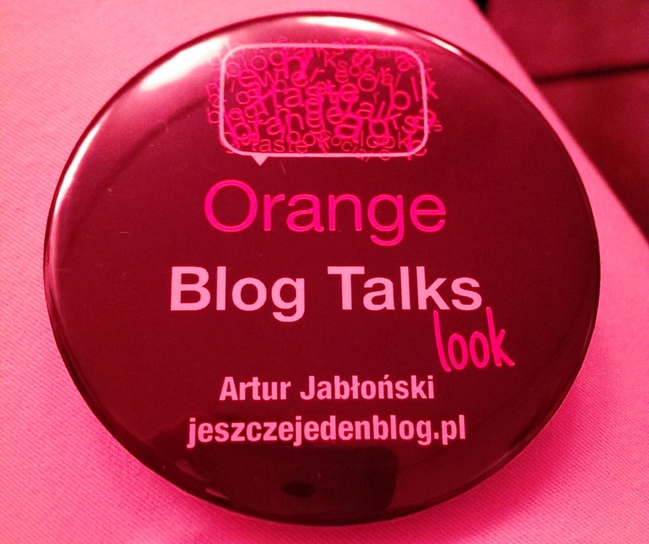 jeszcze jeden blog orange blog talks look