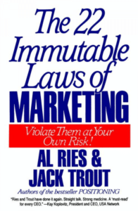 Al Ries Jack Trout The 22 Immutable Laws of Marketing