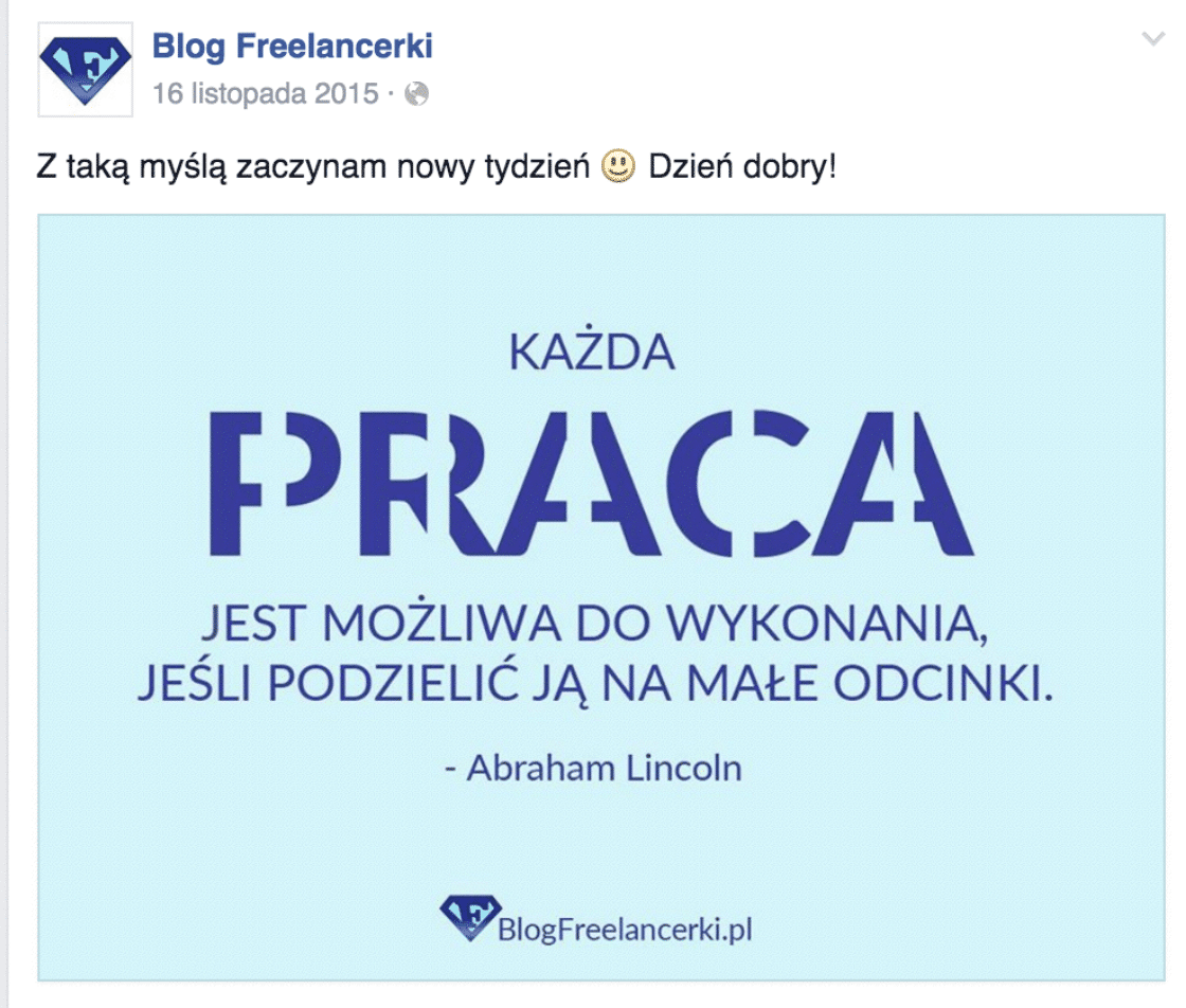 Cytat – blog freelancerski