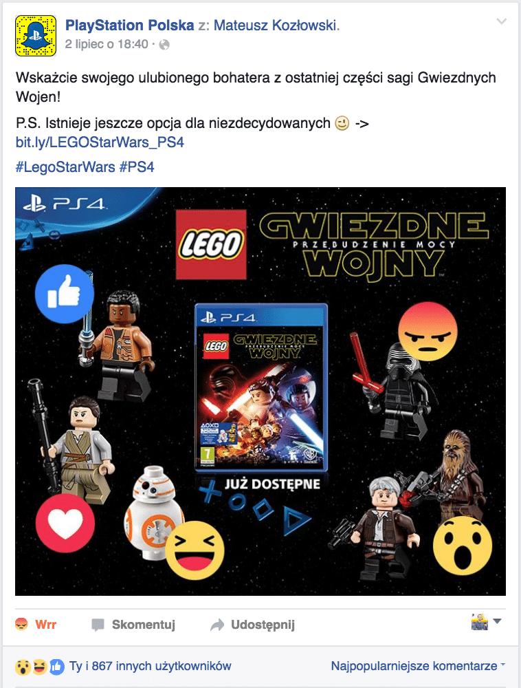 Fani wybierają – PlayStation