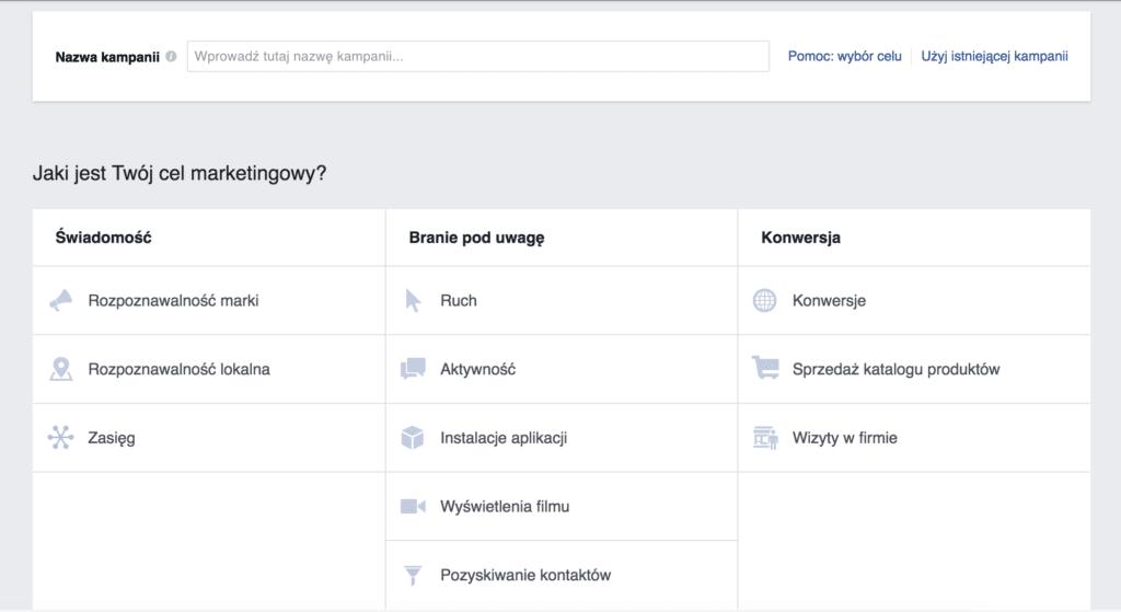 menadzer reklam facebook