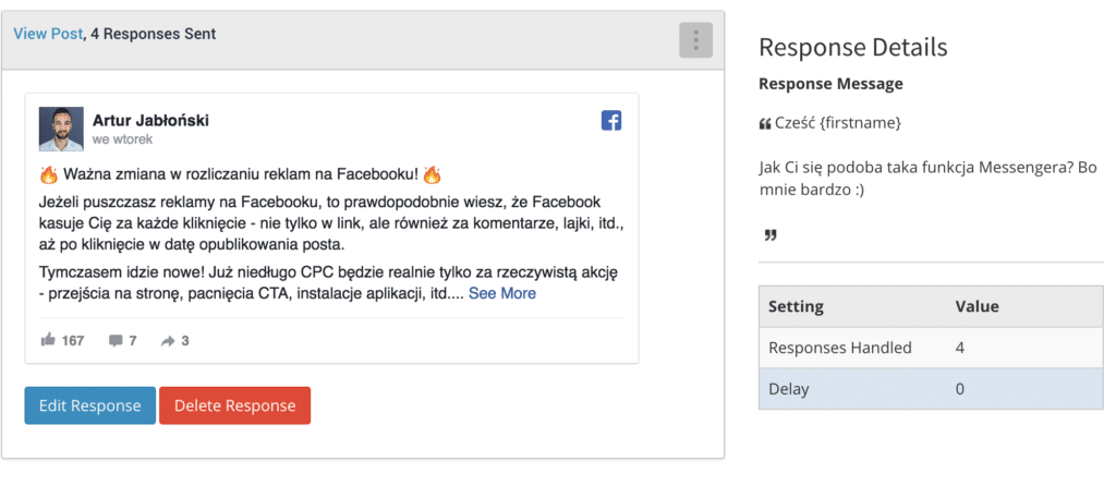 bot fb crediresponse facebook