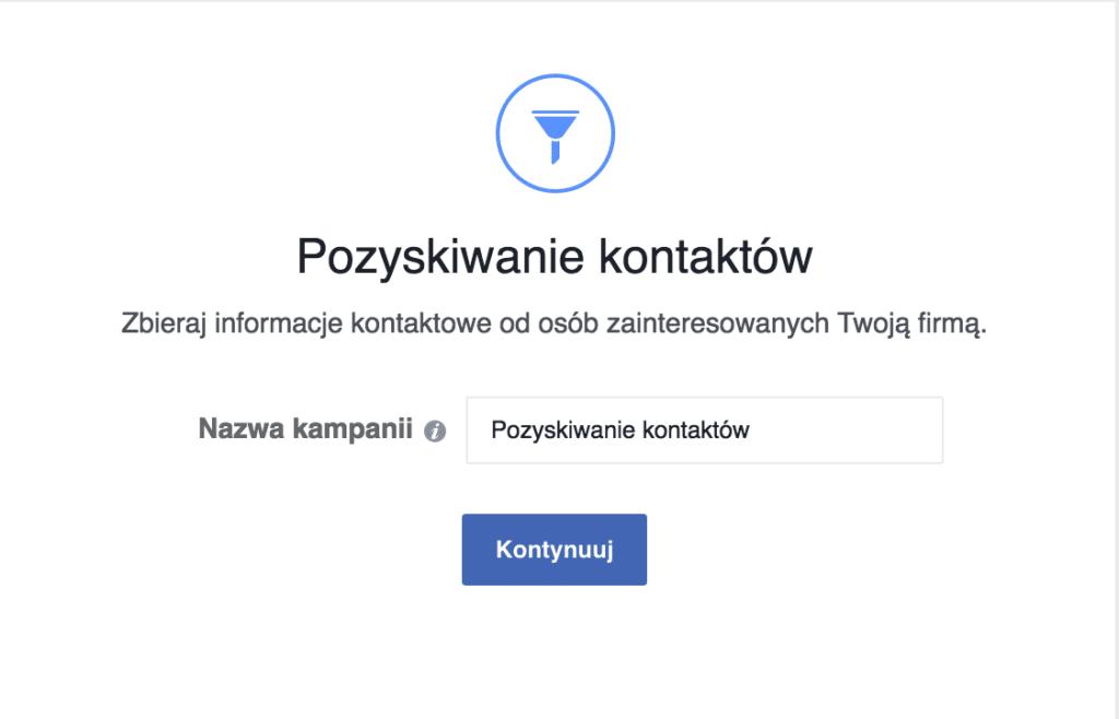 Pozyskiwanie adresów email na facebooku
