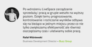 livespace testiominal