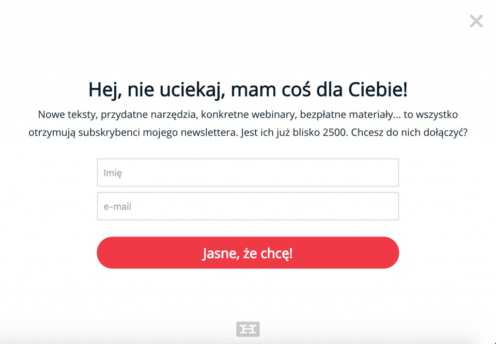artur jabłoński newsletter