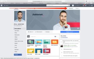 Facebook – ustawienia fanpage'a