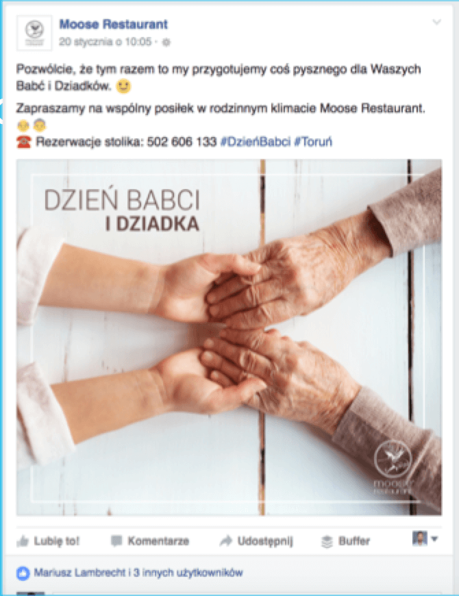 restauracja na fb