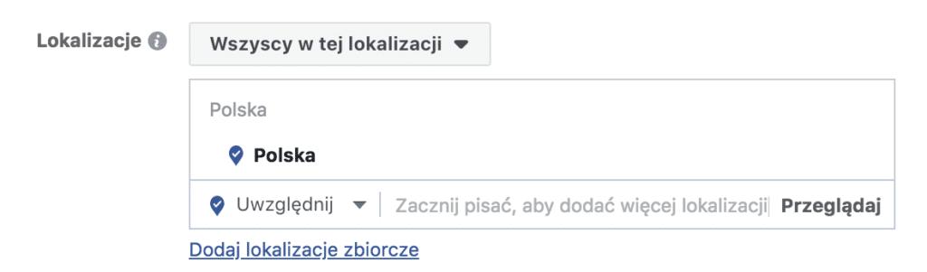 ustawienia lokalizacji na facebooku