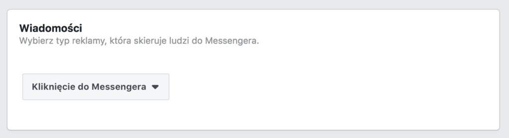 kliknięcie do messengera