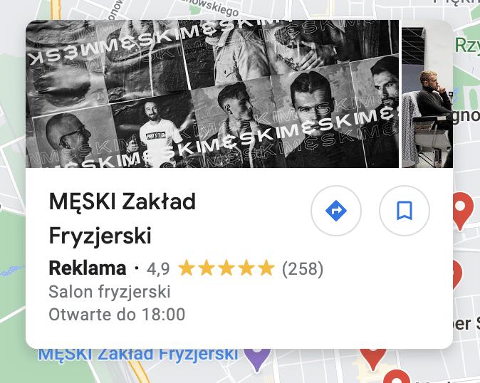 reklama google maps