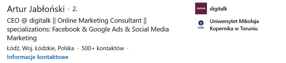 Profil na Linkedinie jak go dobrze przygotować