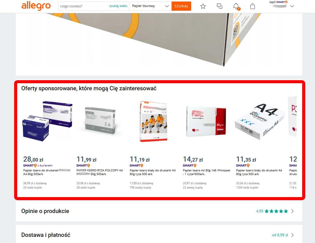 Allegro Ads. Co oferuje system reklamowy od Allegro